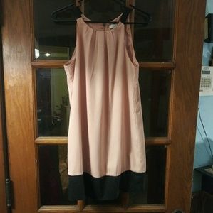Pink and Black Forever 21 dress